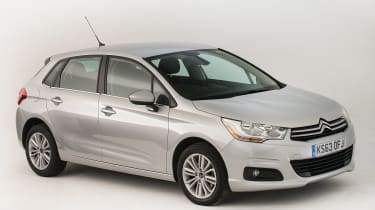 Used Citroen C4 - front