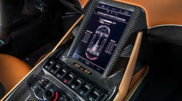Lamborghini Sian - infotainment