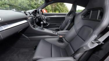 Porsche 718 Cayman 2016 - seats