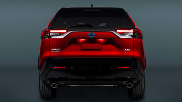 Toyota RAV4 Prime - full rear