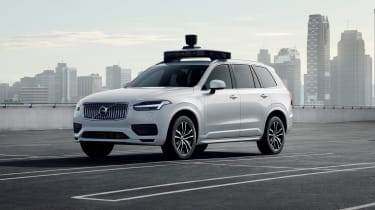 Volvo XC90 self driving car