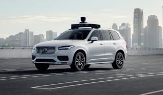 Volvo XC90 self driving car