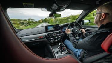 BMW M5 CS - Stu Gallagher
