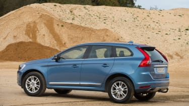 Used Volvo XC60 - rear