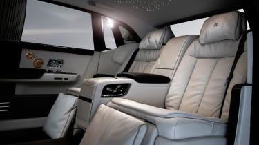 Rolls-Royce Phantom - Whispered Muse rear seats