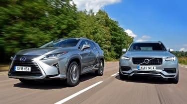 Lexus RX L vs Volvo XC90 - head-to-head