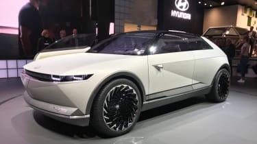Hyundai 45 concept - Frankfurt front