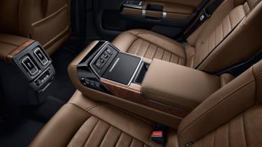 Citroen C6 2016 - rear seats
