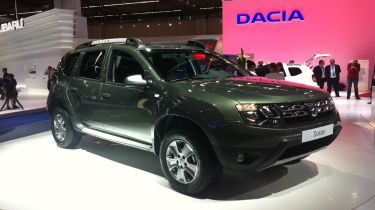 Dacia Duster front view