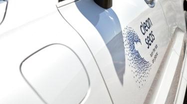 Volvo XC60 recycled plastic fuel cap