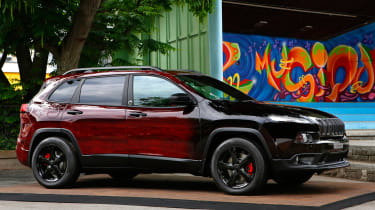 Jeep Montreux Jazz Festival special editions - Cherokee front quarter