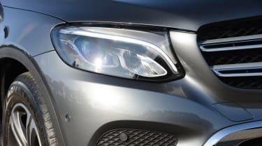 Long-term test review: Mercedes GLC - first report headlight