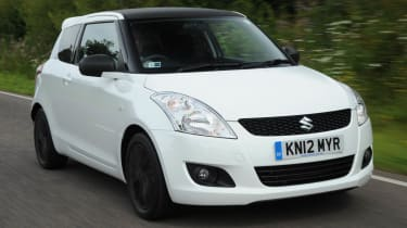 Suzuki Swift Attitude front action