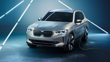 BMW's first all-electric SUV is the iX3 and it promises 273 miles of range from a 282bhp motor.