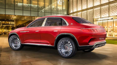 Vision Mercedes-Maybach SUV - rear static