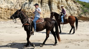 Horse riding with James Brodie