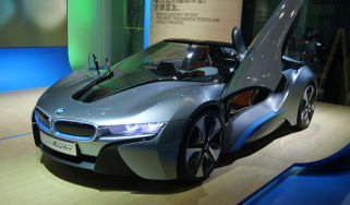 BMW i8 Spyder concept front three-quarters