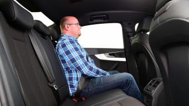 Audi A4 long-term test - rear seats
