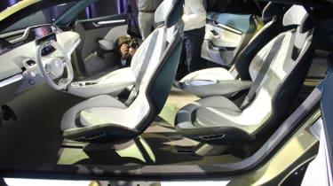 Skoda Vision E Concept - show seats