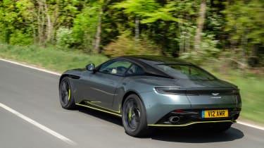 Aston Martin DB11 AMR - rear action