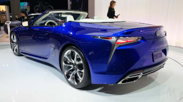 Lexus LC 500 Convertible - Los Angeles rear
