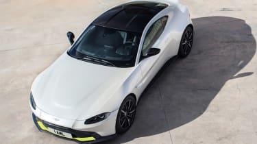 Aston Martin Vantage - above front
