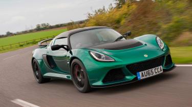Lotus Exige Sport 350 - front