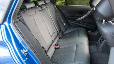 BMW 328i Touring rear seats