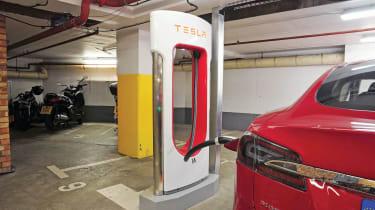 Charging Tesla