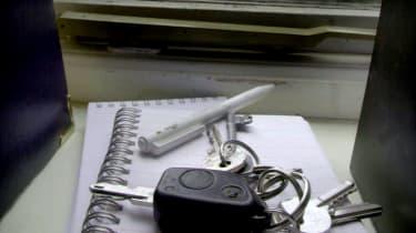 Car key theft