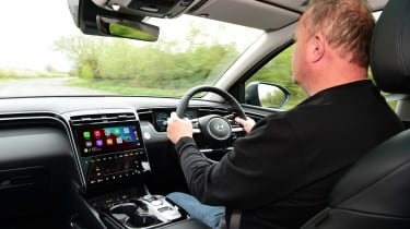 Hyundai Tucson Ultimate Hybrid - first report Steve Fowler