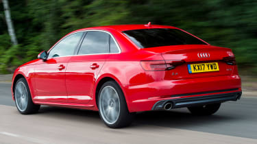 Used Audi A4 Mk5 - rear action
