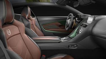 Aston Martin DBS Superleggera 59 - interior