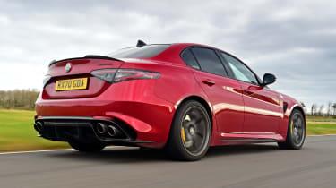 Alfa Romeo Giulia Quadrifoglio - rear