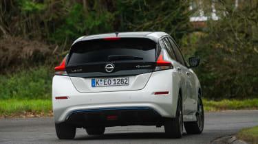 Nissan Leaf - rear cornering