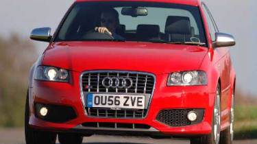 Audi S3 front view