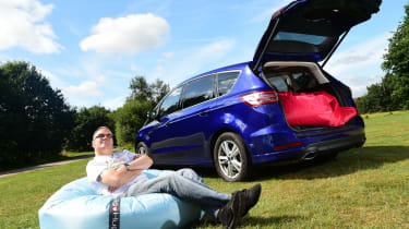 Ford S-MAX long-term - third report header