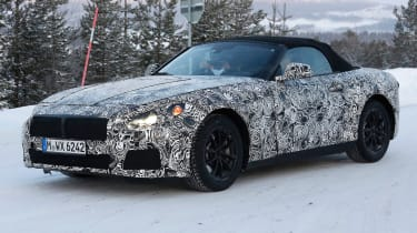 BMW Z4 2017 front side