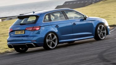 Audi RS3 long-term test review - rear
