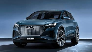 Audi Q4 e-tron concept - front static