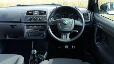 Skoda Fabia 1.2 TSI Monte Carlo interior