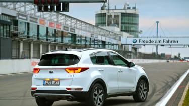 New Kia Sportage SUV 2016 - rear quarter
