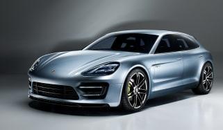 Porsche Panamera Sport Turismo front tracking