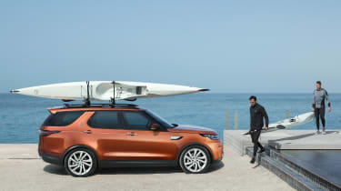 Land Rover Discovery 2017 - official surfboard