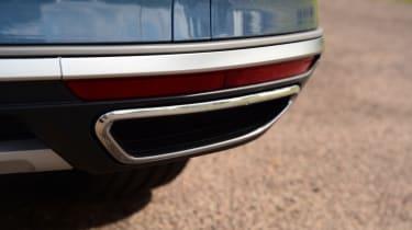 Volkswagen Passat Alltrack - exhaust tip