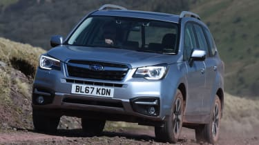 Subaru Forester front quarter