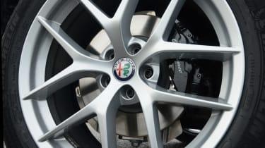Alfa Romeo Stelvio - wheel detail