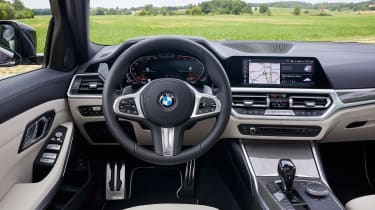 BMW 3 Series Touring - dash