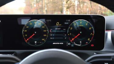 Mercedes-AMG A 35 Saloon - dials