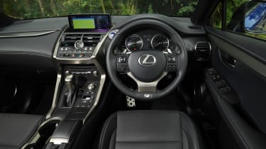 Used Lexus NX - dash